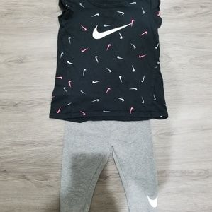 Nike girls 4t set